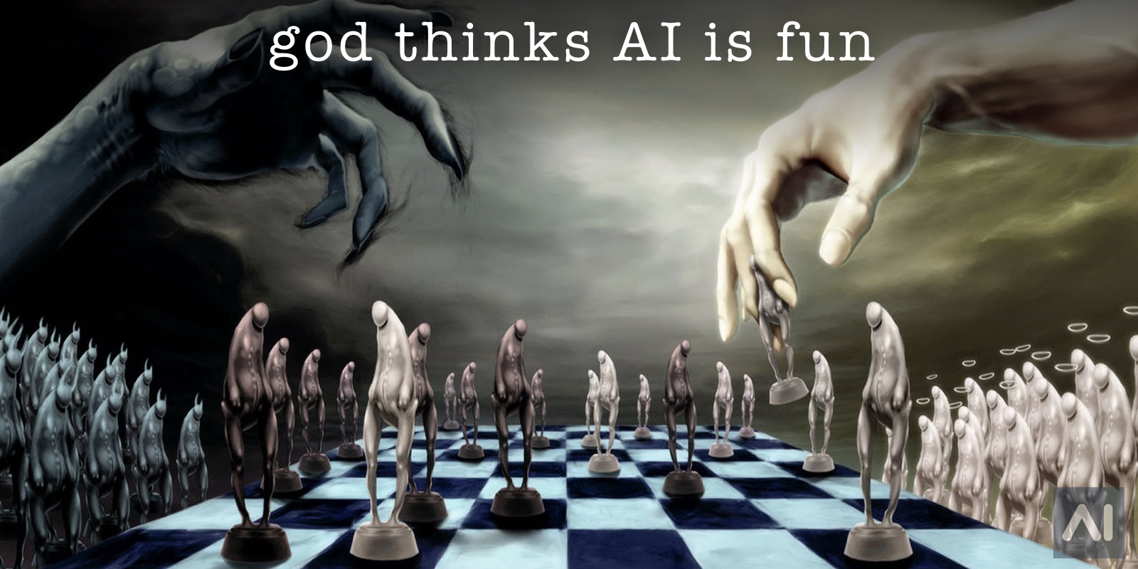 God and the Devil Playing Chess with Humankind