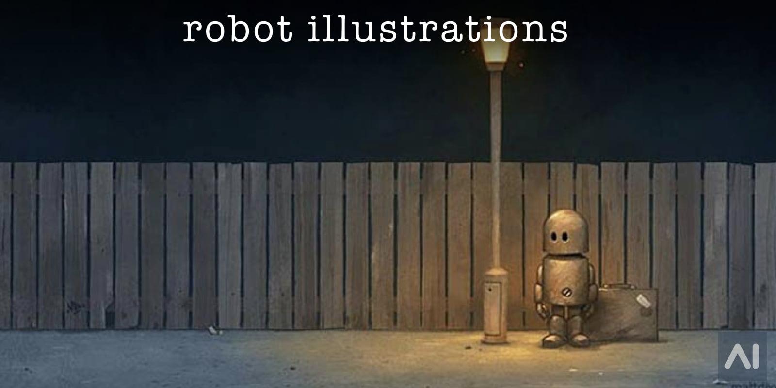 The Cutest Robots Ever by Matt Dixon