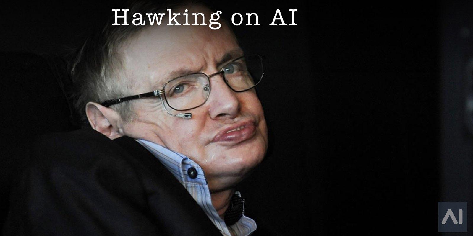 Stephen Hawking on AI