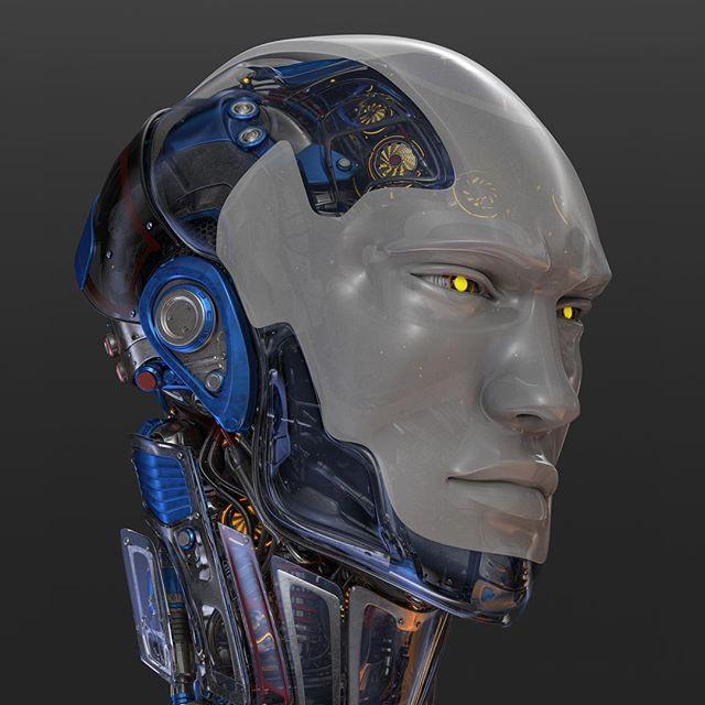 #robotic #head 1
