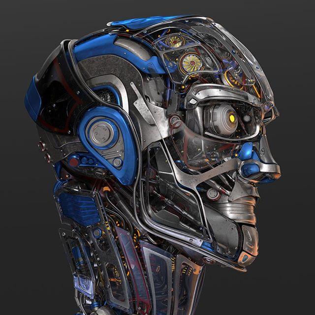 #robotic #head 3