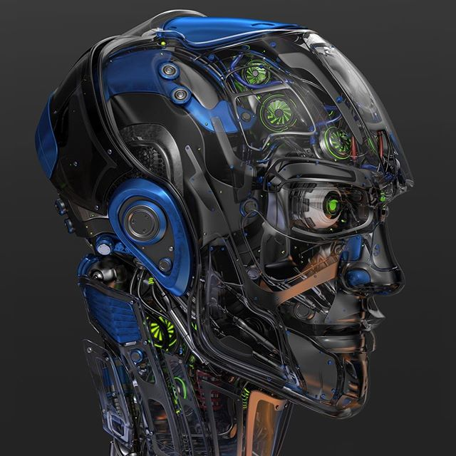 #robotic #head 5