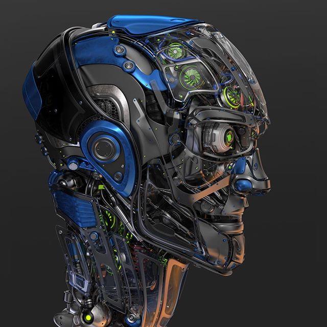 #robotic #head 6
