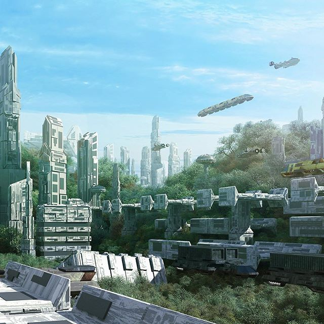 The #future might be #incredible . #AI might help us solve all our #problems and make #Earth a better place, a #paradise even. 2/3