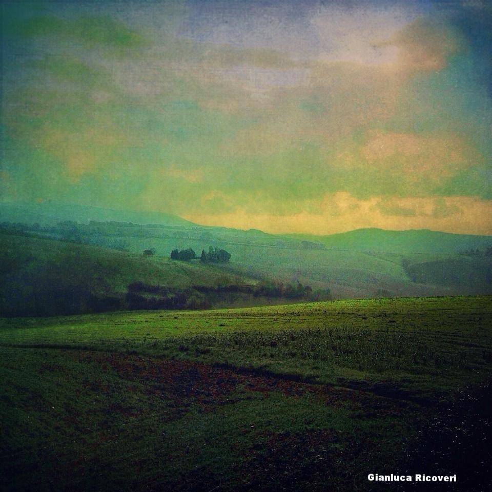 Landscape 588 Tuscany's Hills at dusk