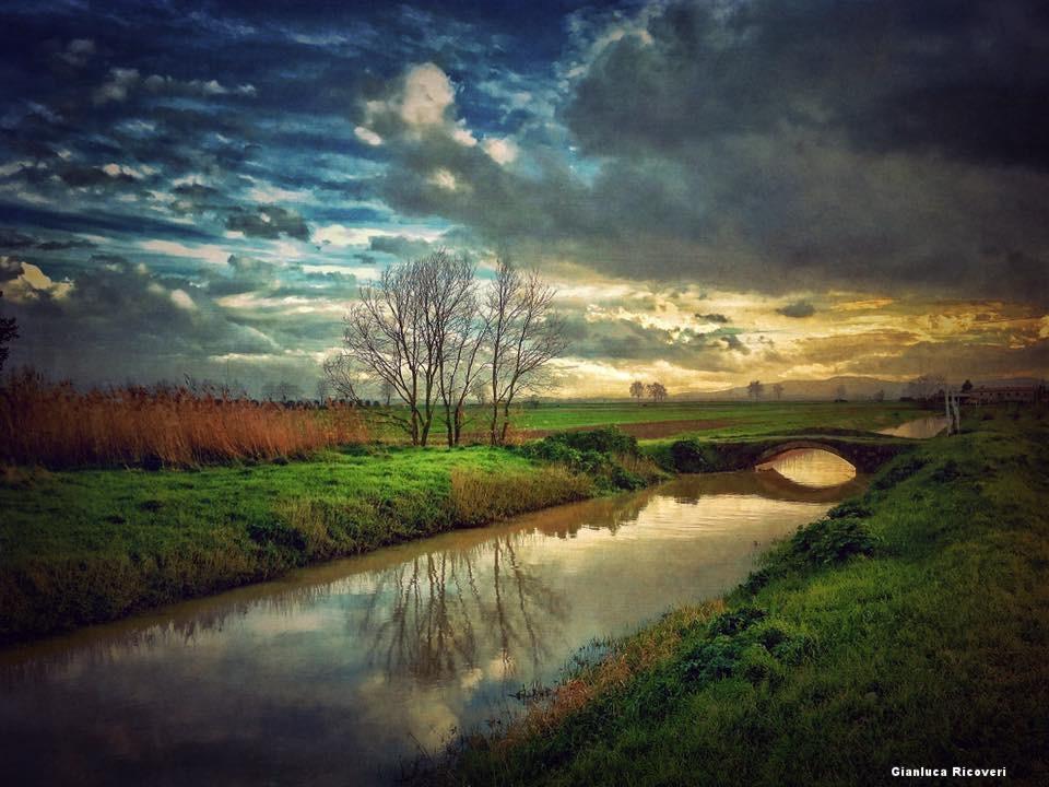 Landscape 1021 The little bridge