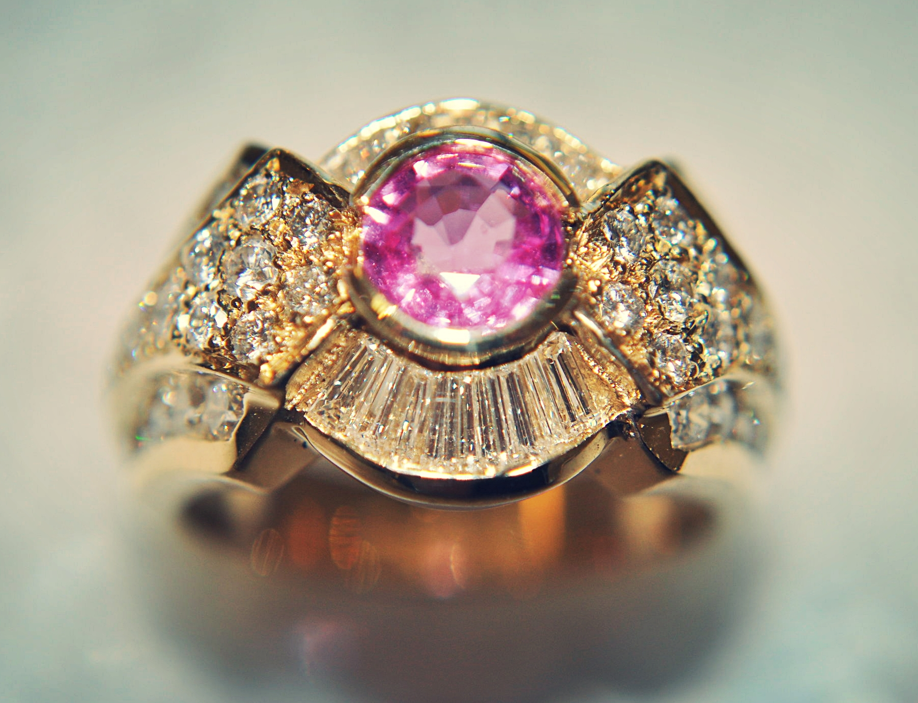 PinkSapphireDiamondRing