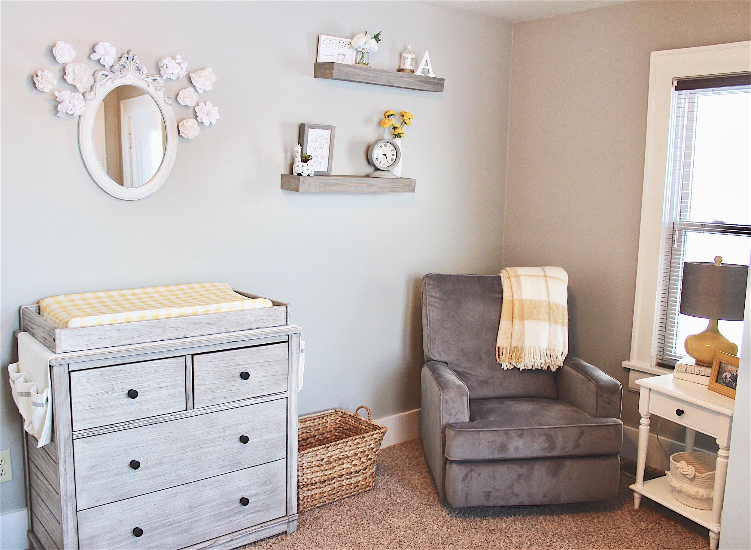 Baby Kienzle Nursery Reveal Seeking