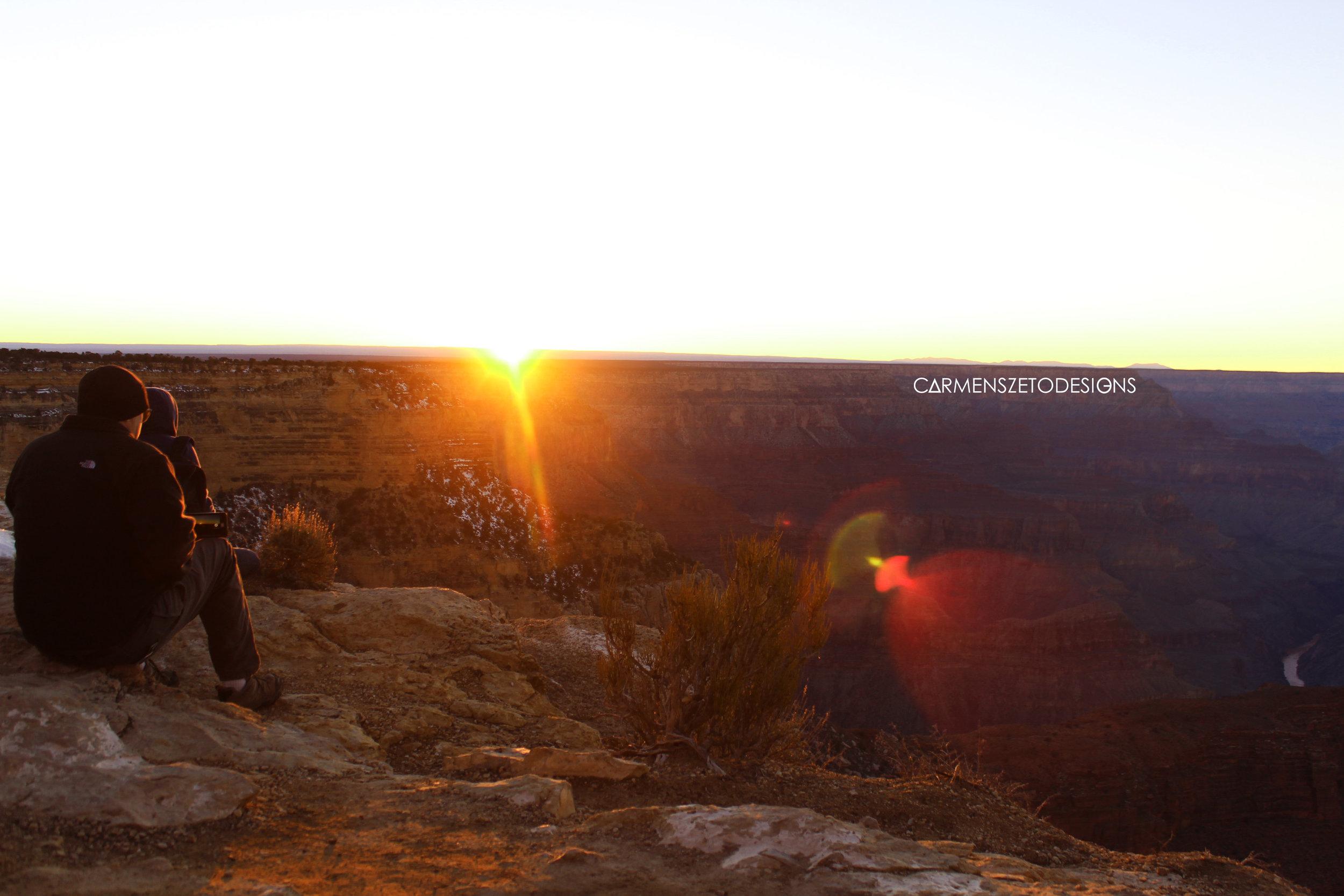 Sunset at Hopi Point