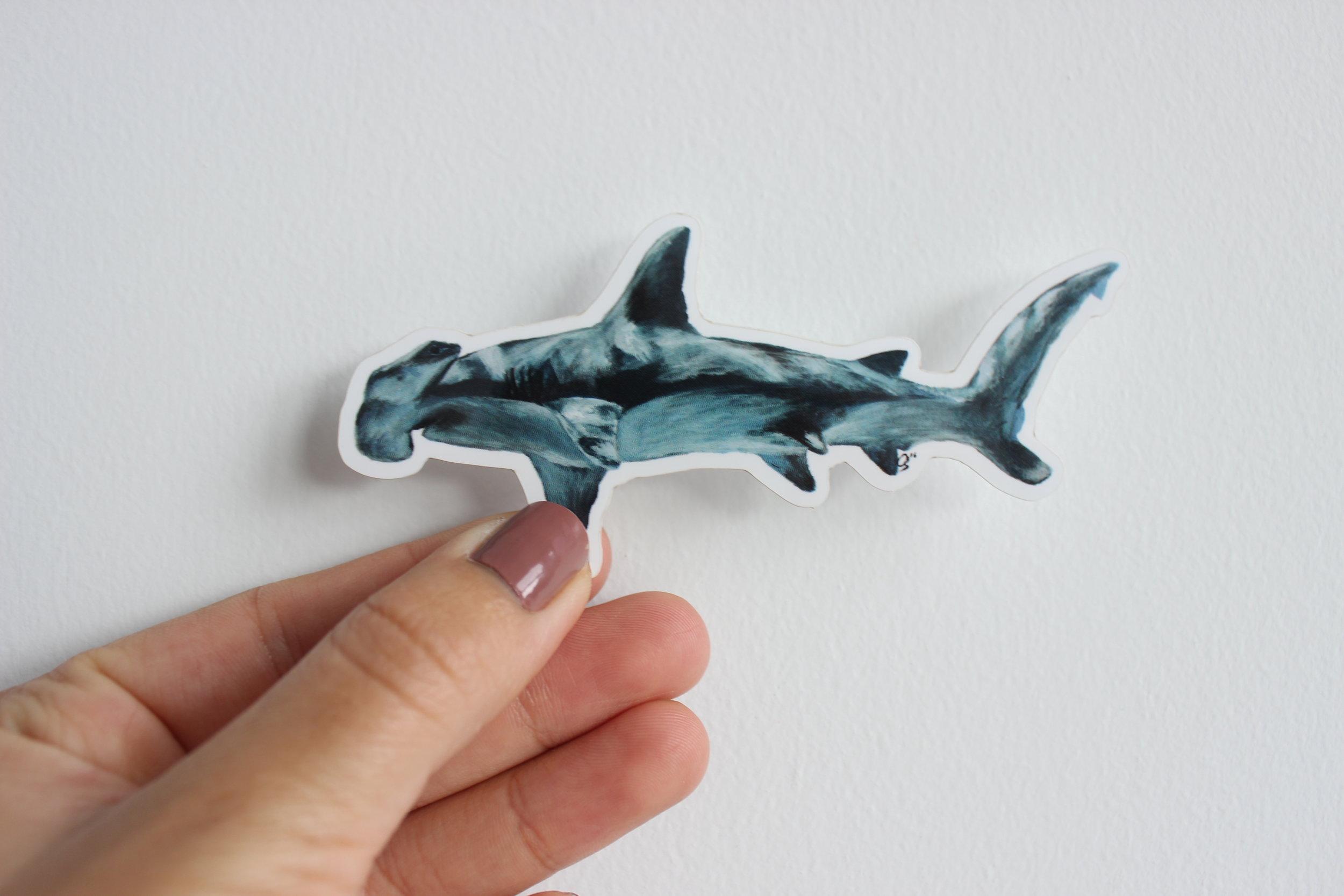 Great Hammerhead Sticker/Magnet
