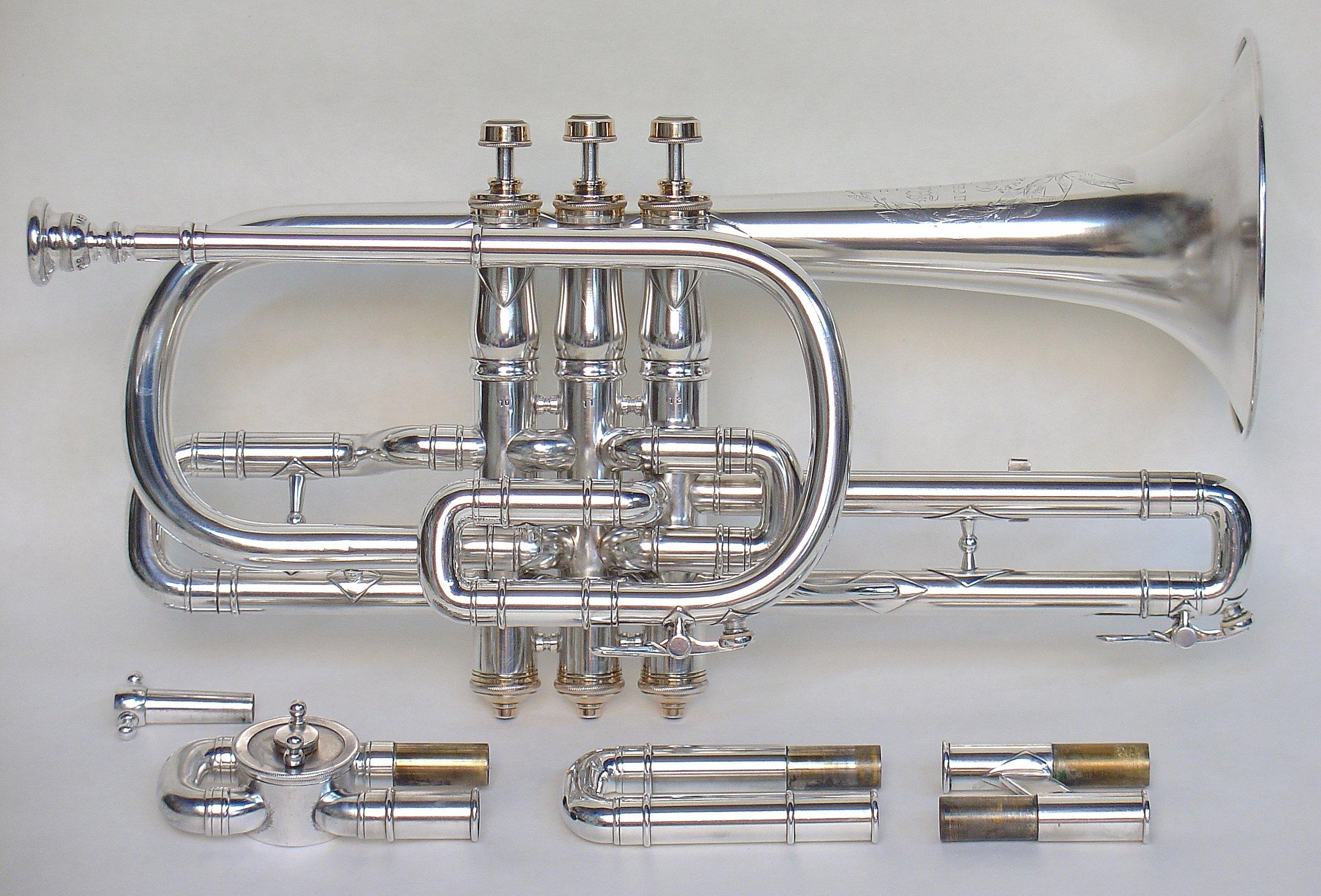 """Open Tone Cornet"" by Z. Albert Meredith"