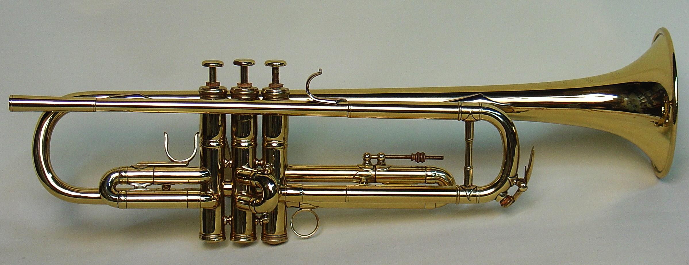 Elden Benge's Besson Trumpet