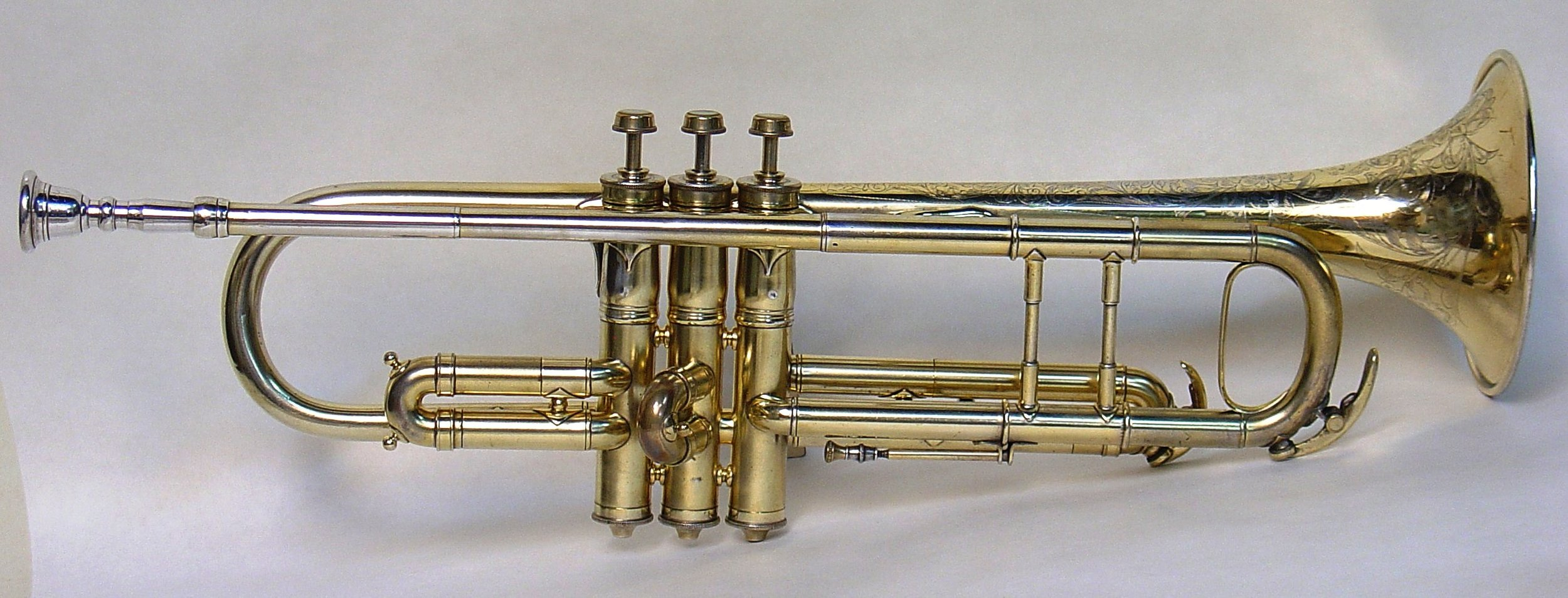 Early Conn Trumpet in Bb