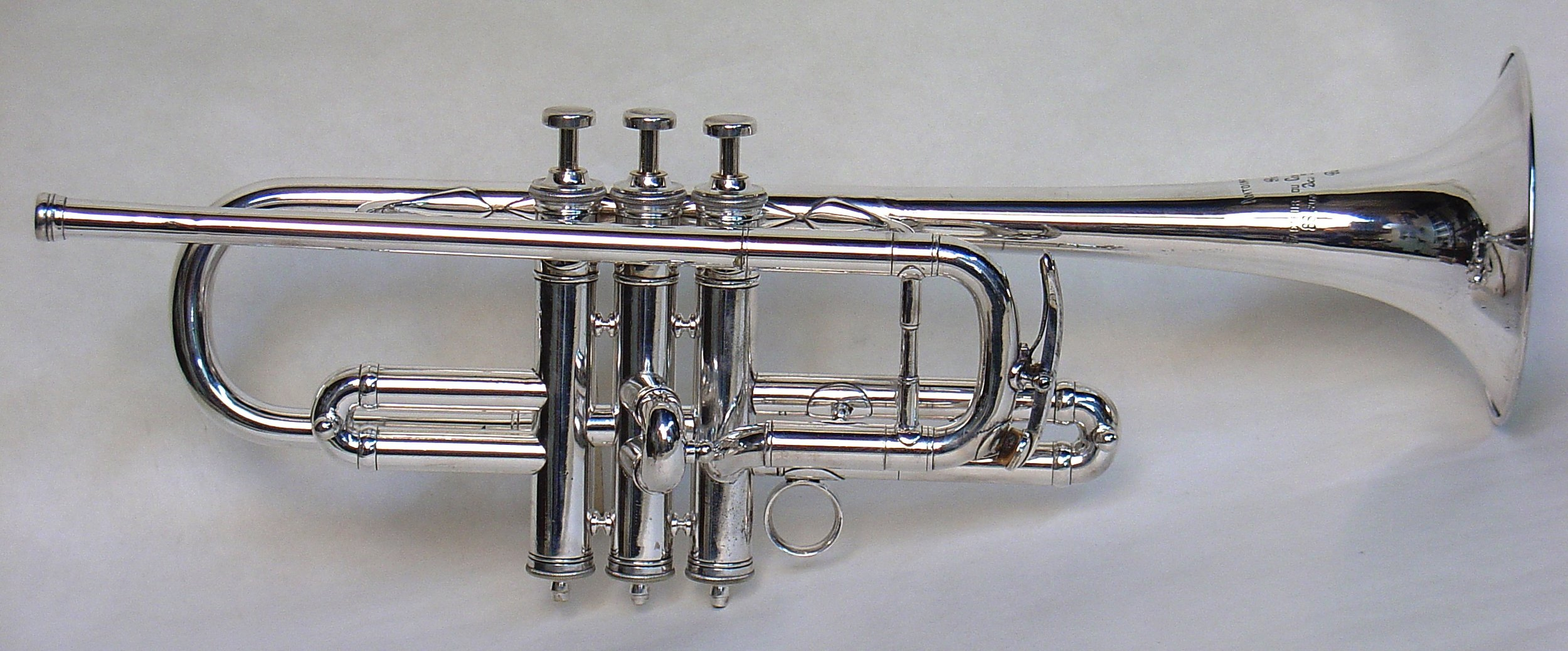 George Mager's Courtois D Trumpet