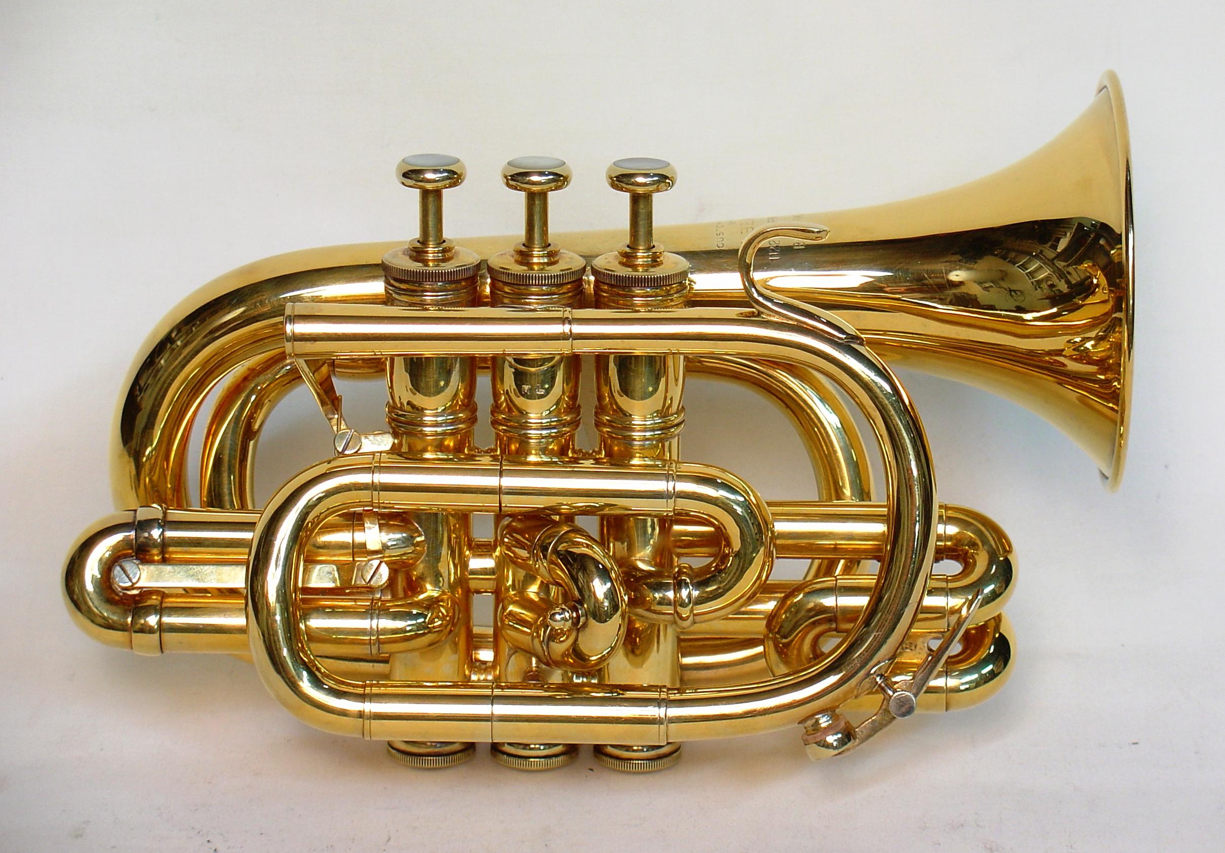 First Benge Pocket Trumpets