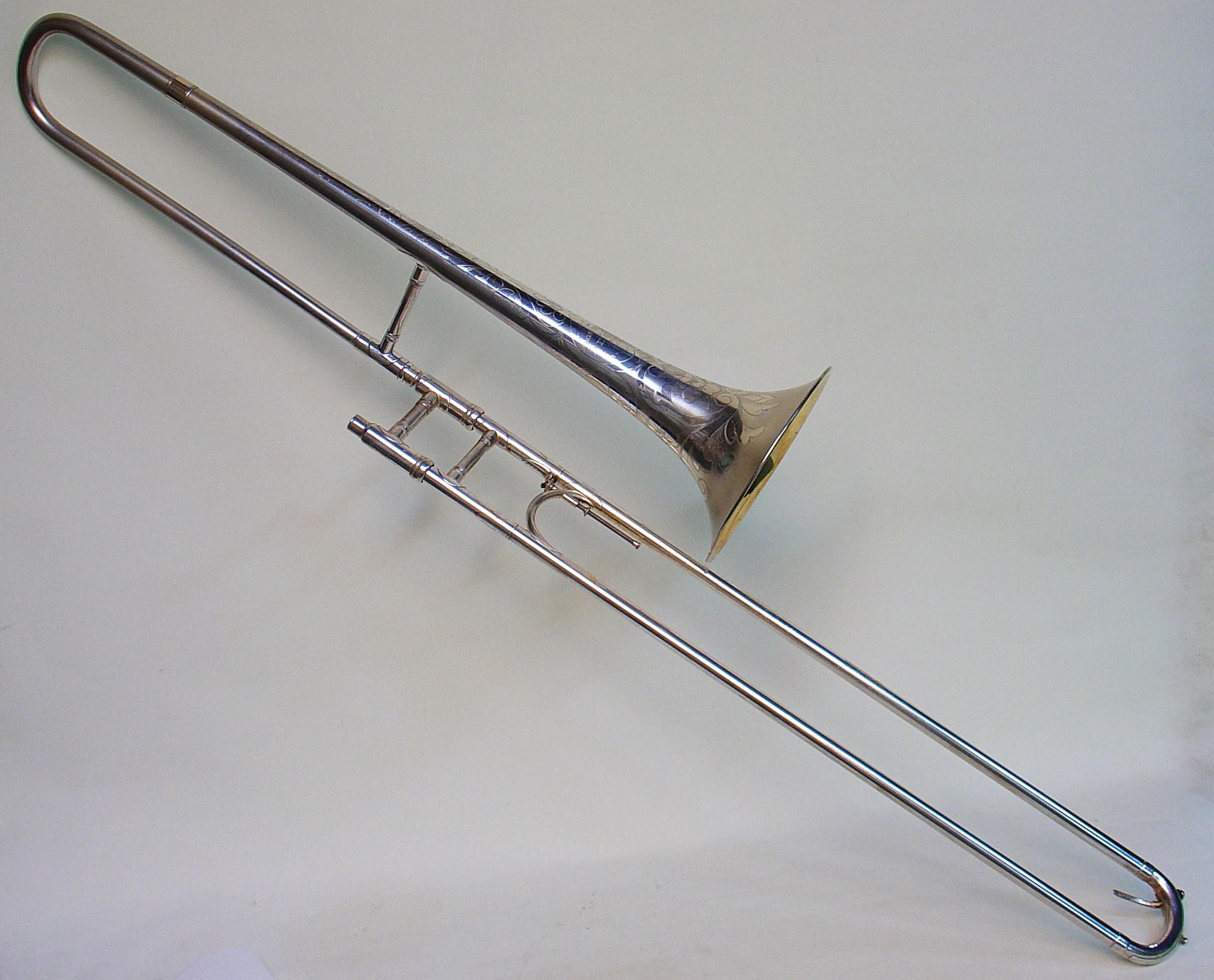Trombone Made for Wilbur DeParis, Early 1920s