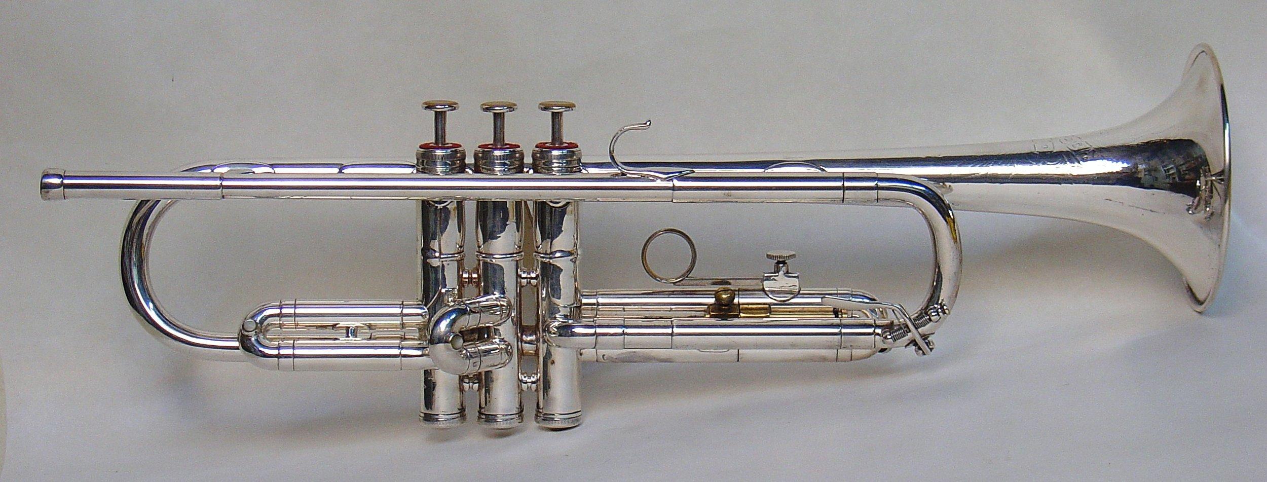 Uan Rasey's Recording Model Trumpet