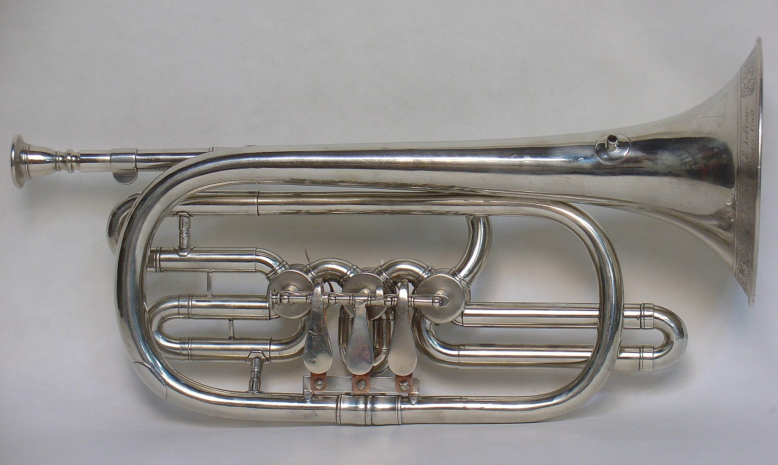 Bb Cornet by Edward Teltow