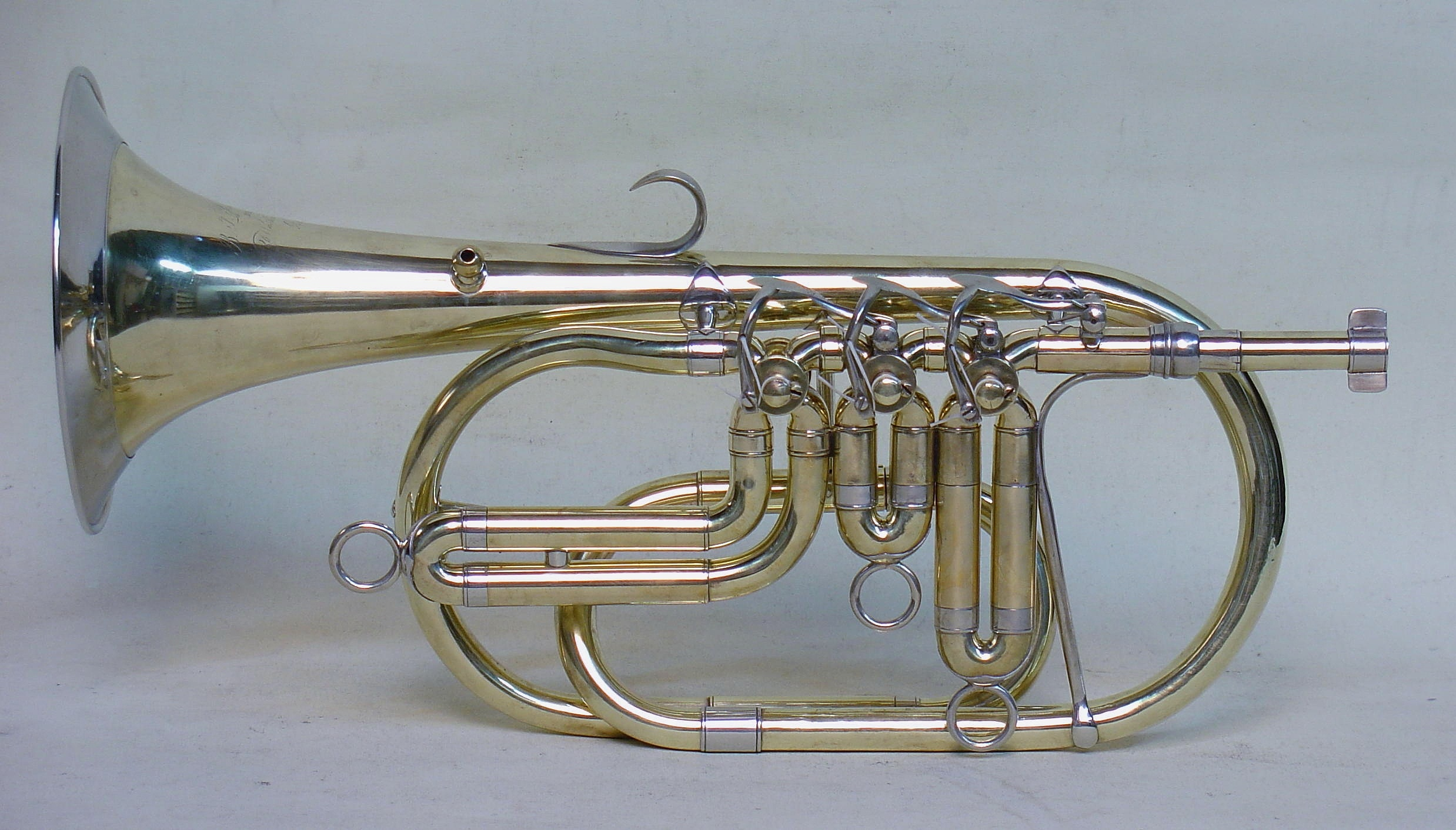 Richardson Bb Cornet, Late 1850s, with History