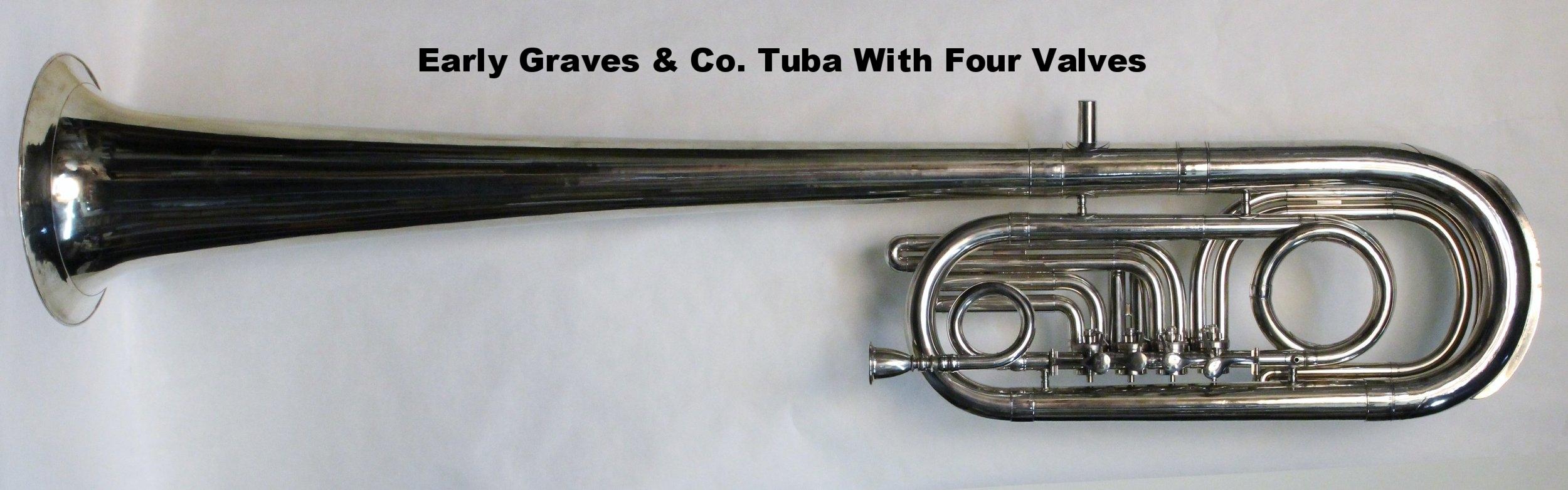 Graves Eb Tuba with 4 Valves