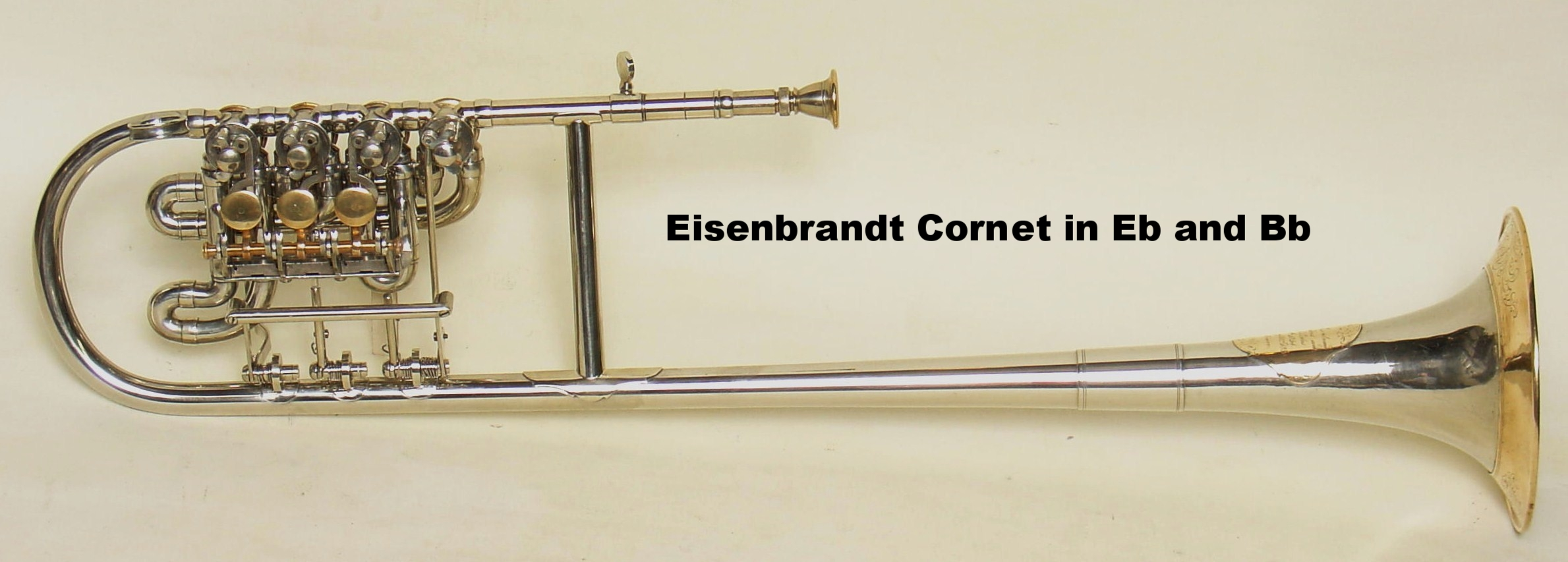 Eisenbrandt Cornet in Eb and Bb