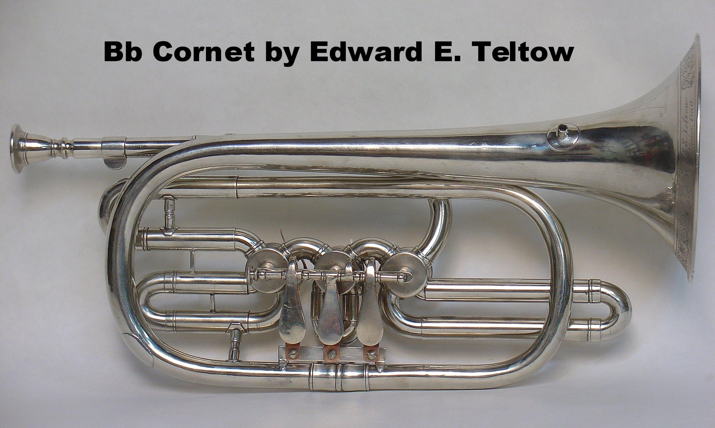 Bb Cornet by Edward E. Teltow