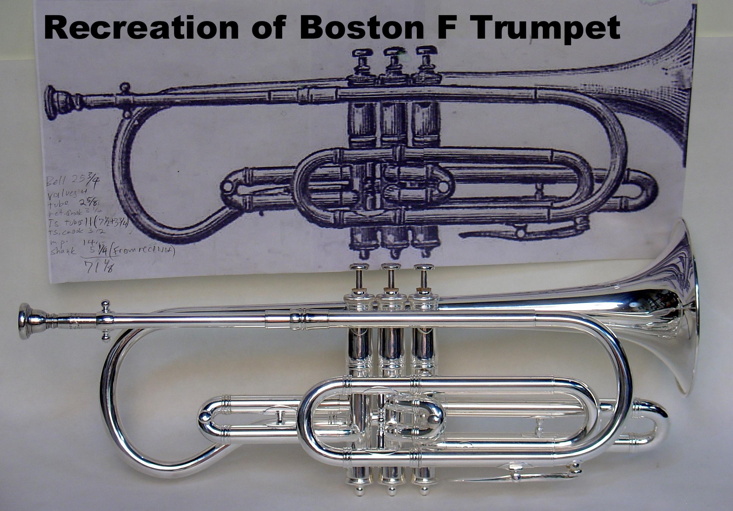 Recreation of Boston F Trumpet