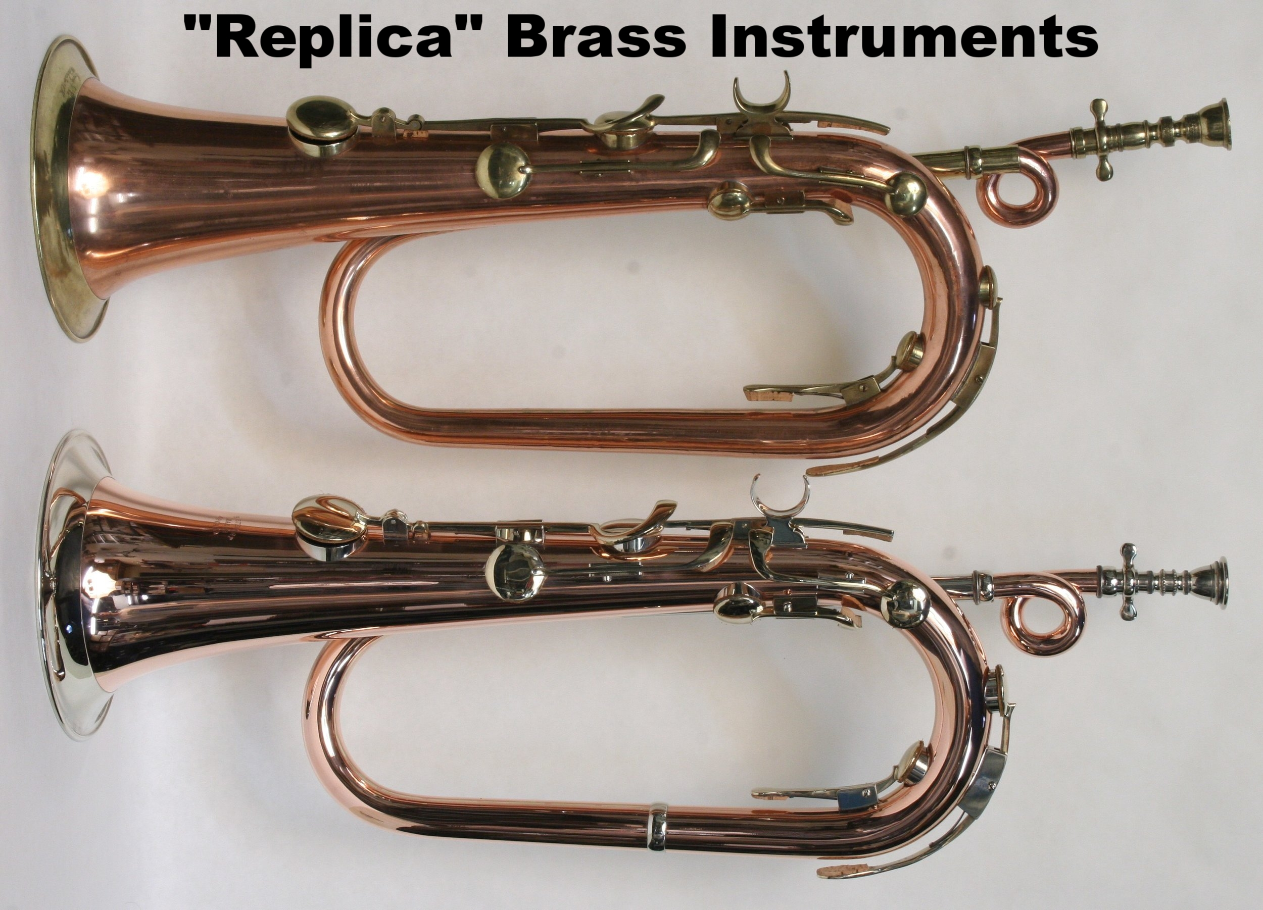"""Replica"" Brass Instruments"