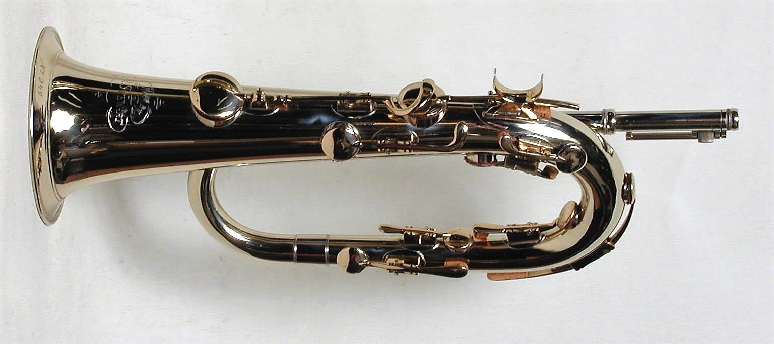 Eb Keyed Bugle, Solid Nickel Silver