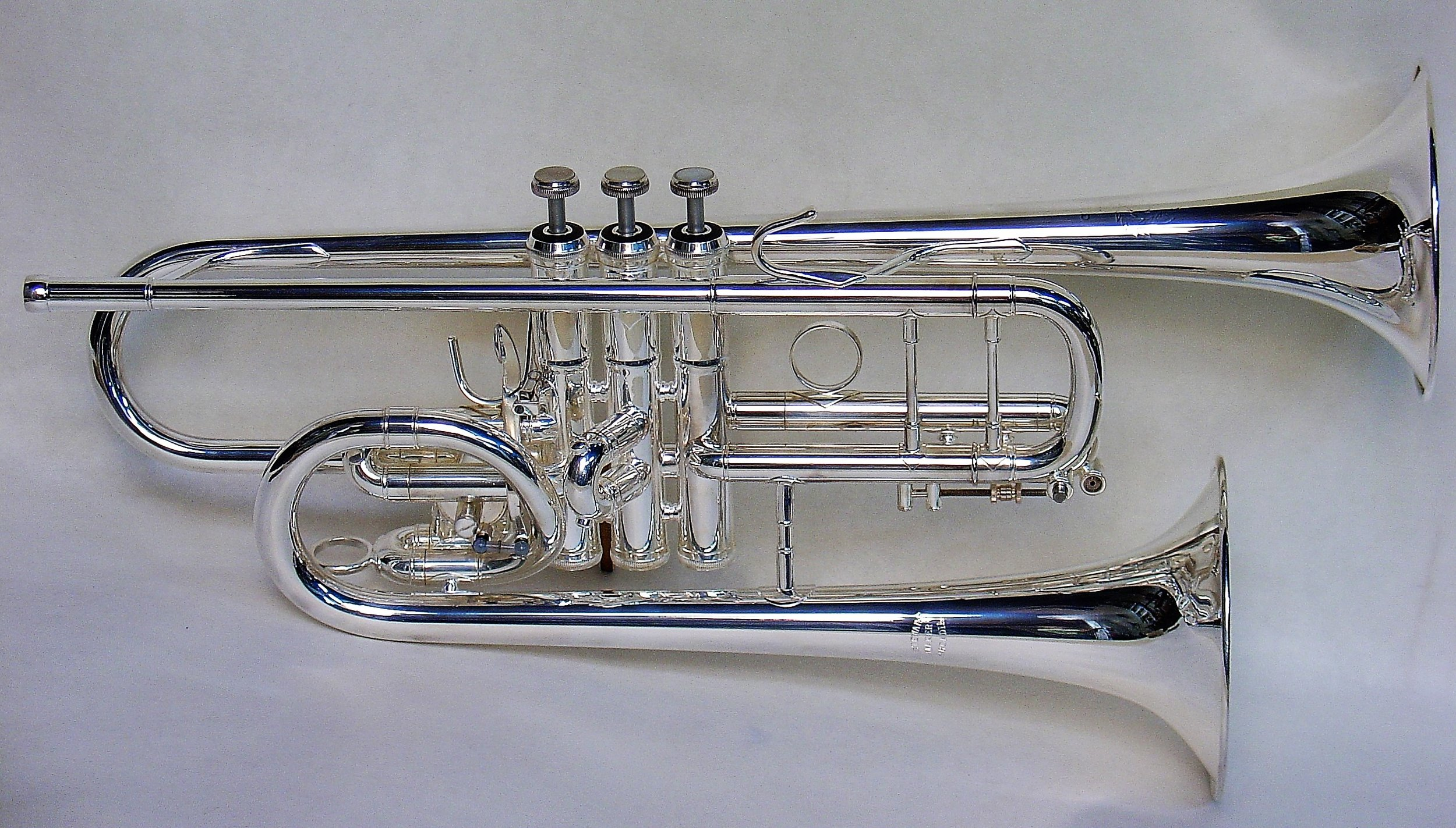 Double Bell Trumpets