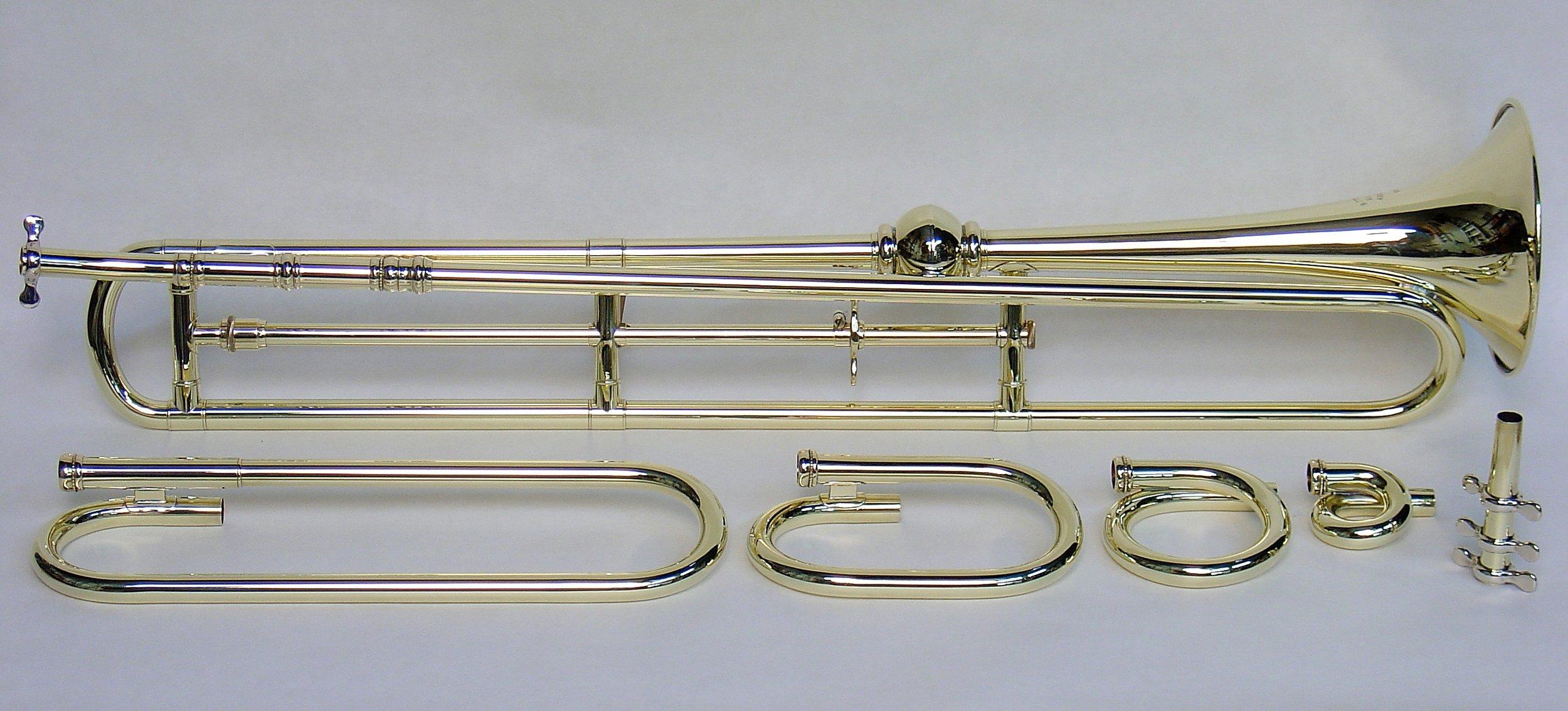 English Slide Trumpet Replica