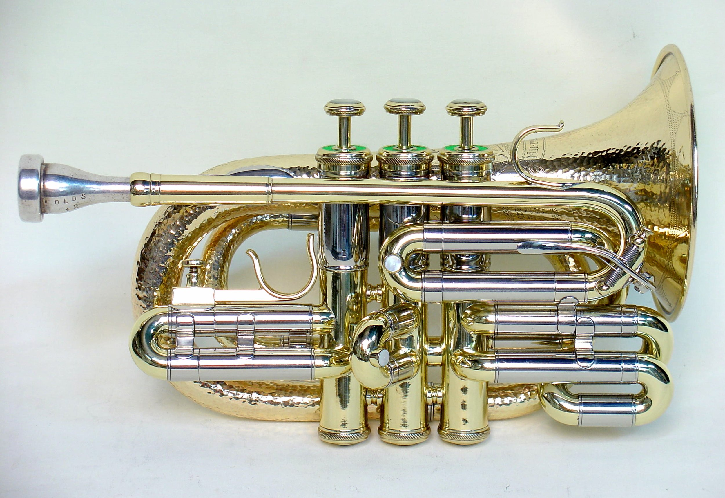 Olds Military Model Pocket Cornet