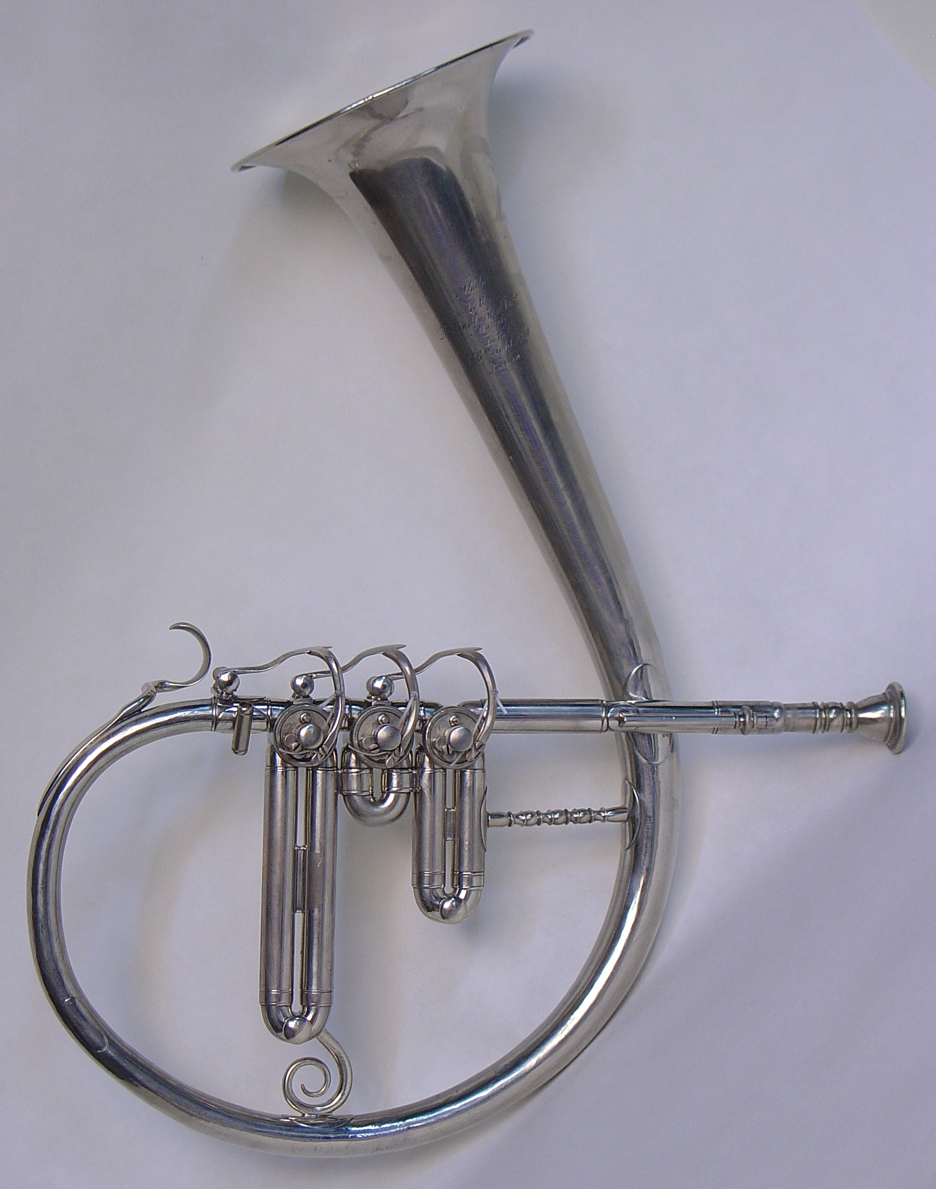 Eb Circular Valve Bugle (Saxhorn)
