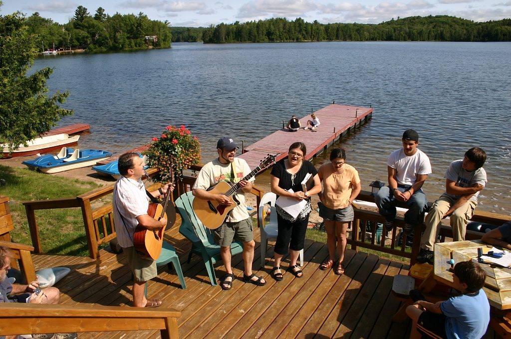 Socials on the Main Deck and Grotto Area - Join us Sunday Evenings at 7:30pm for complimentary Smore's.  Bring your instruments if you have them!