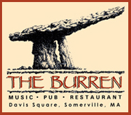Live Django Jazz on Tuesdays and the best vegetarian shepherd's pie you'll ever eat. What more can we say?  http://www.burren.com/