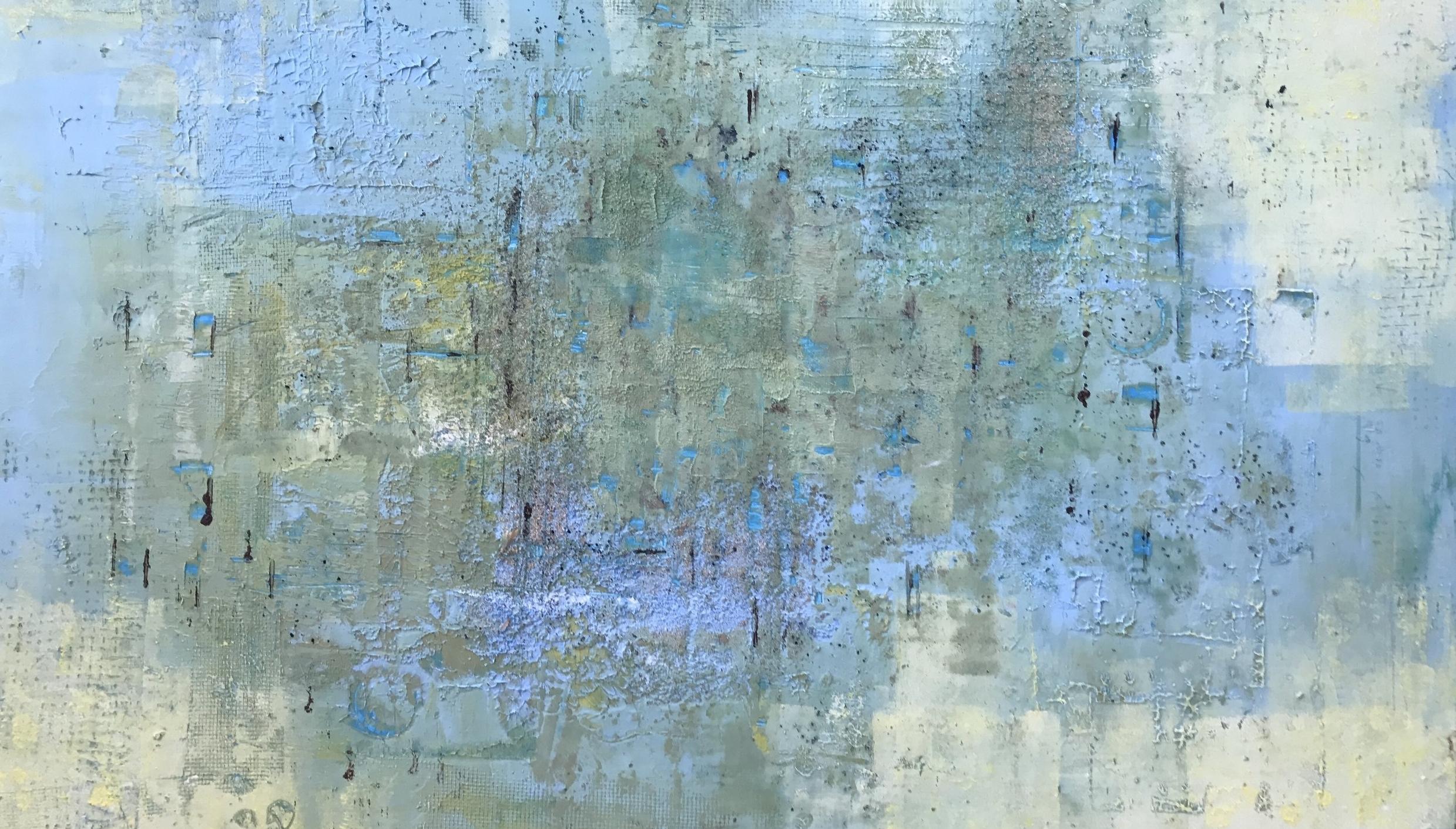 Blue Haze 18x24