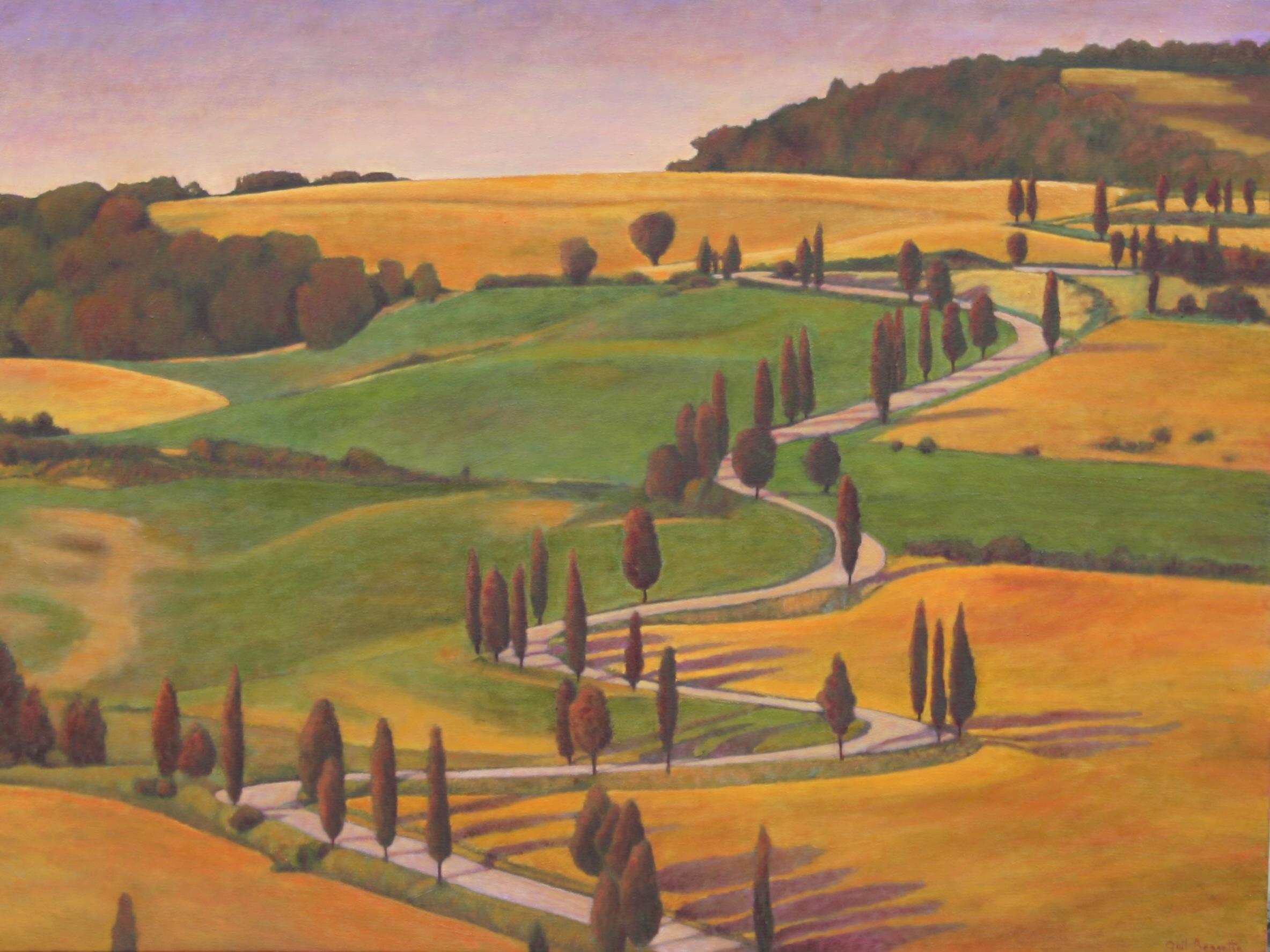 Tuscan Hillside 36 x 48