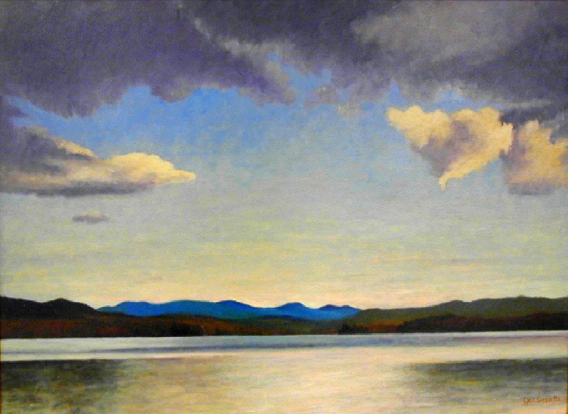 Upper Lake 24 x 30