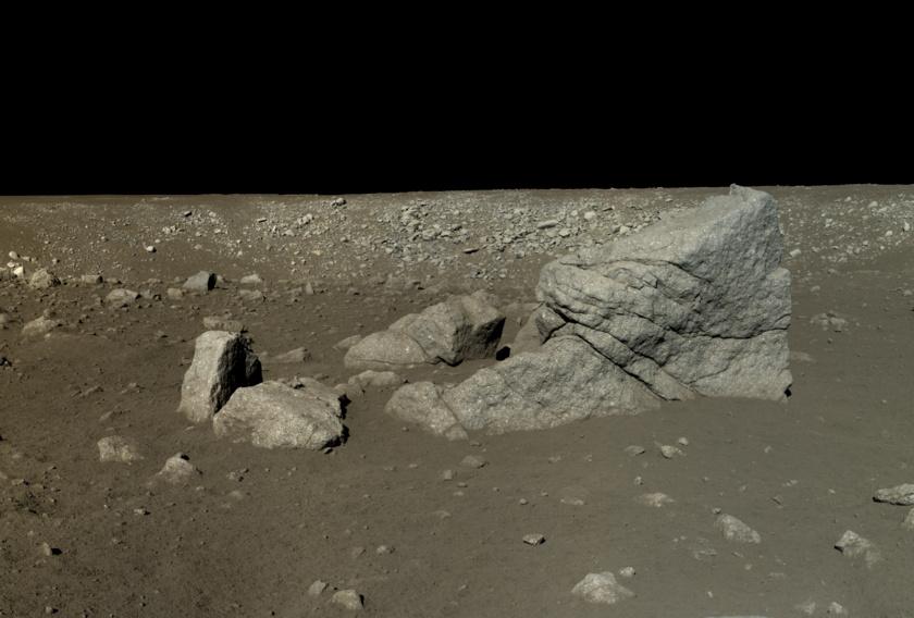 Photo from Chinese Yutu moon lander- Academy of Sciences / China National Space Administration / Emily Lakdawalla