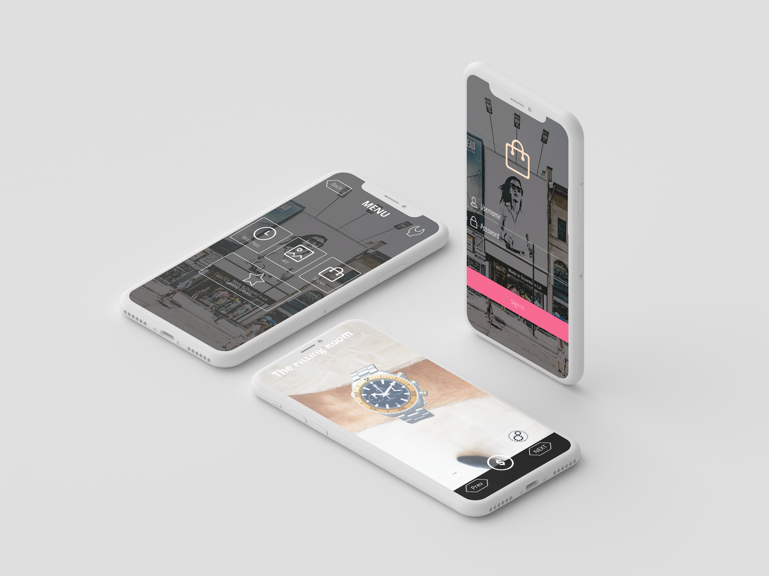 The fitting room - proof of concept AR Retail app