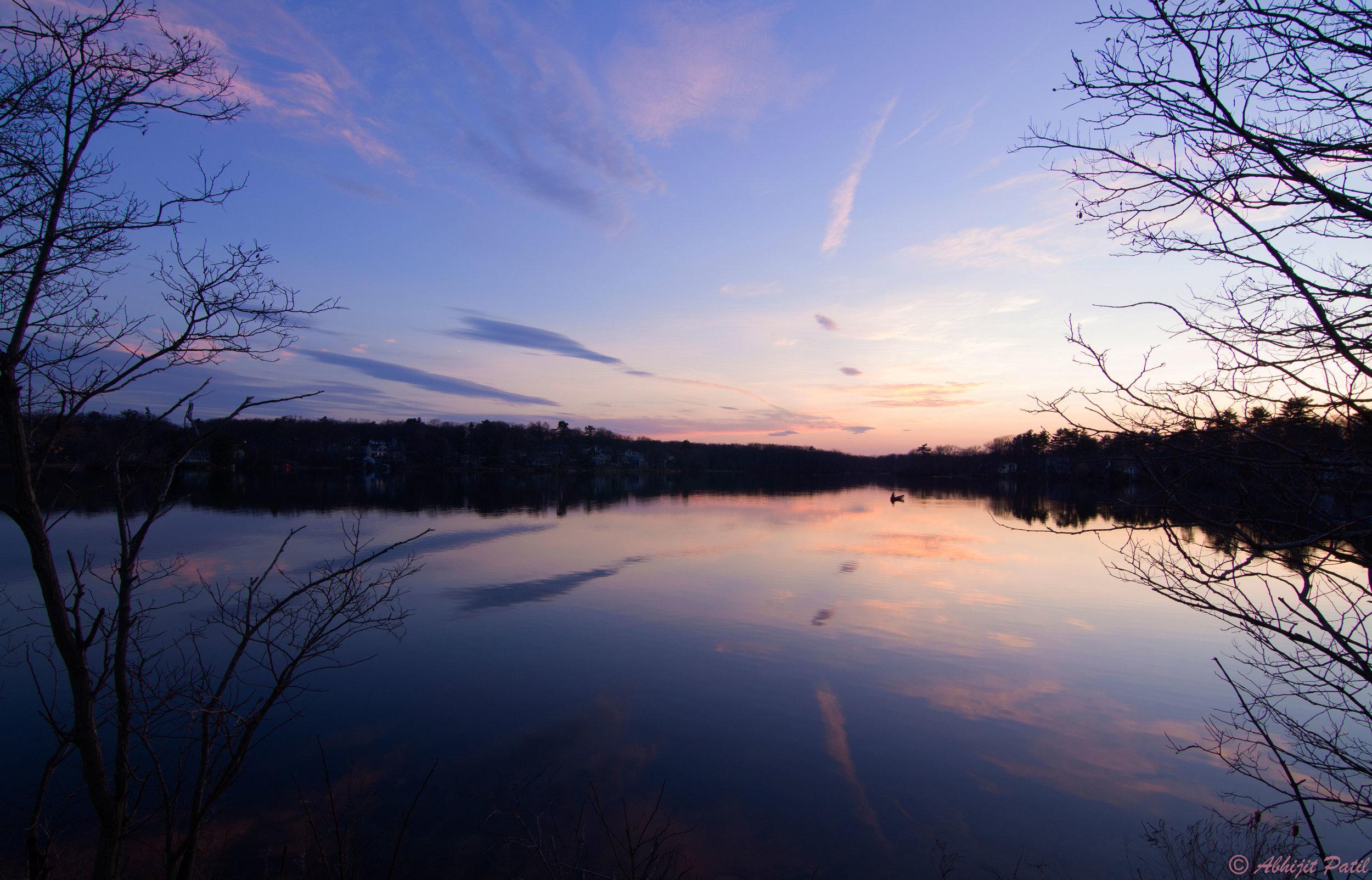 Nutting Lake Sunset