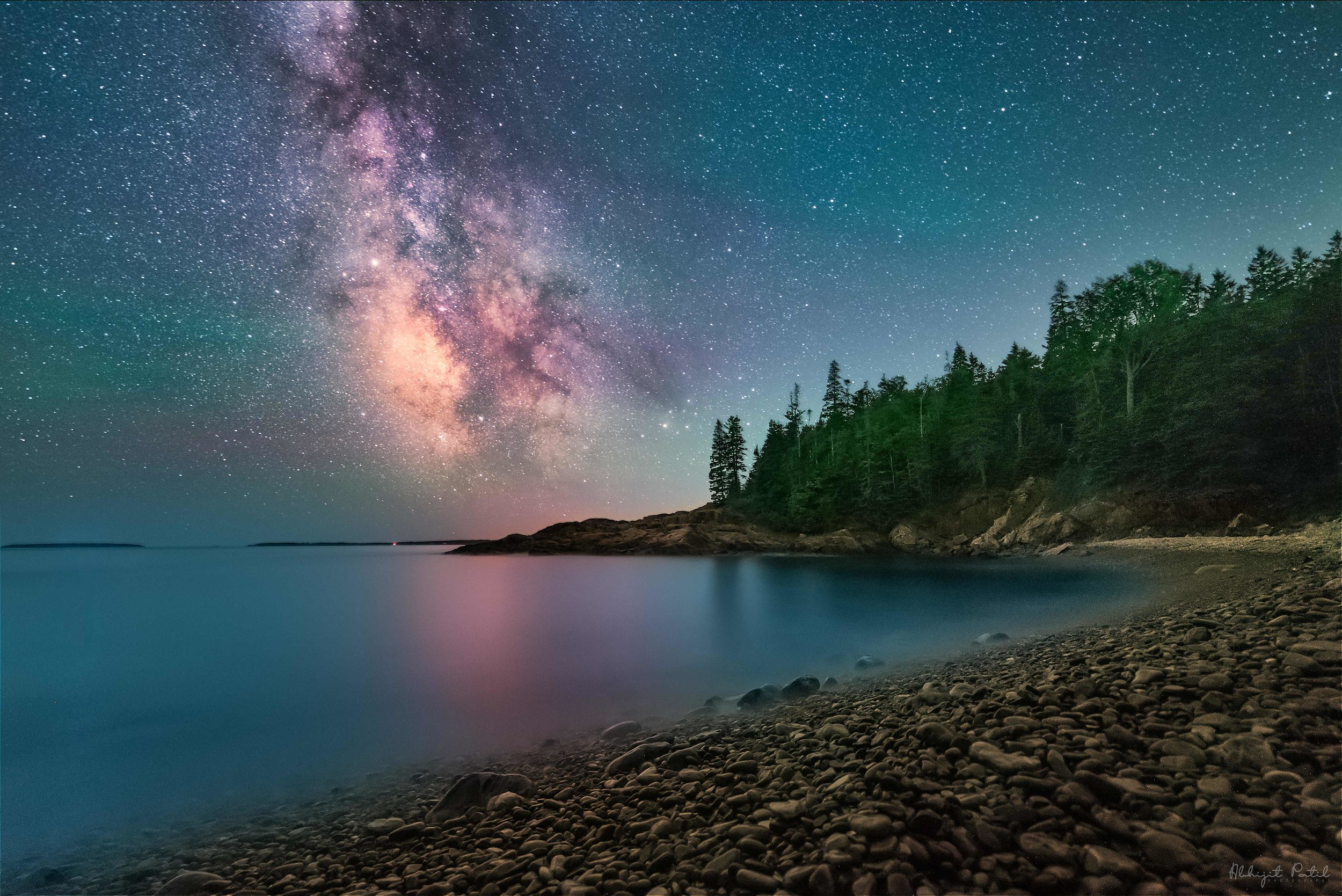 The Instagrammer's Guide to Fabulous National Parks - Featured Night sky image from Acadia National Park's coastline.
