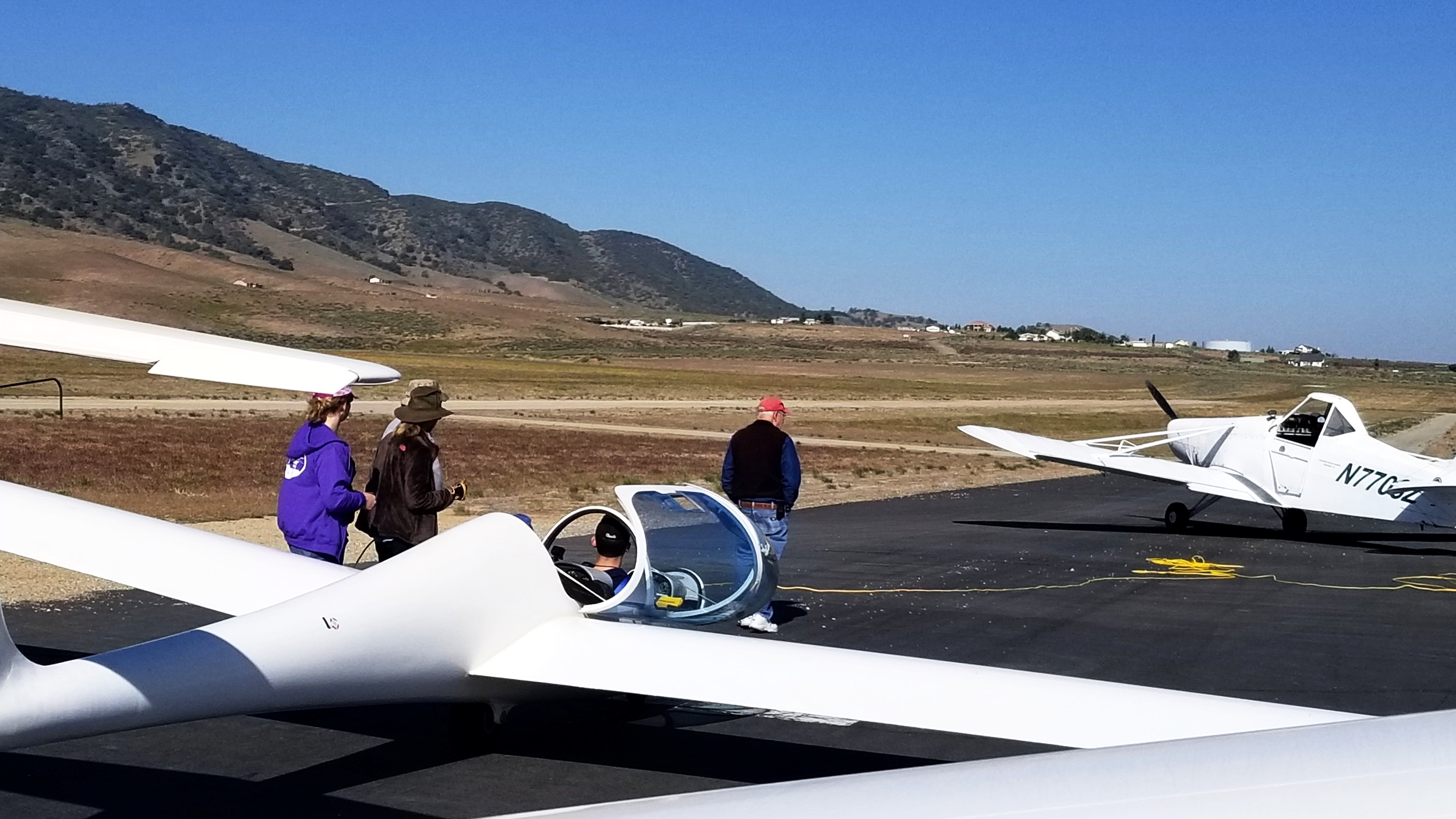 One of the Four Gliders We Flew in Tehachapi, California