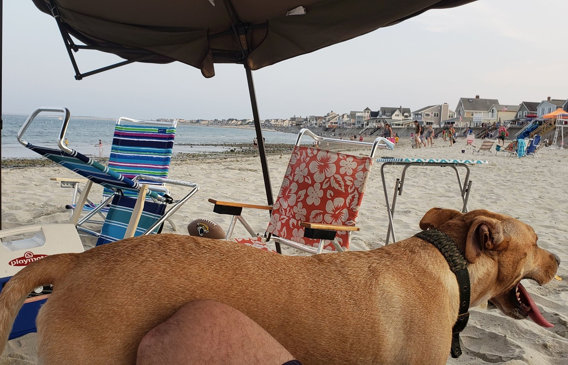 Enjoying the beach is a great frugal vacation especially on July 4th