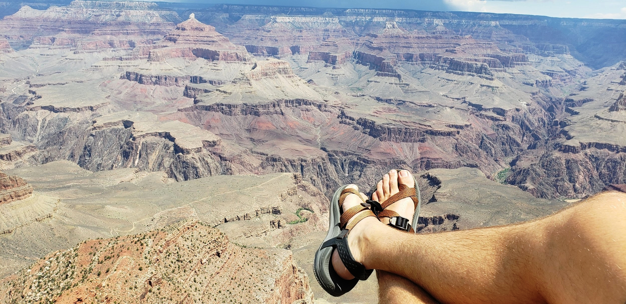 Another free vacation. Grand Canyon free entrance thanks to the pass they offer to Military