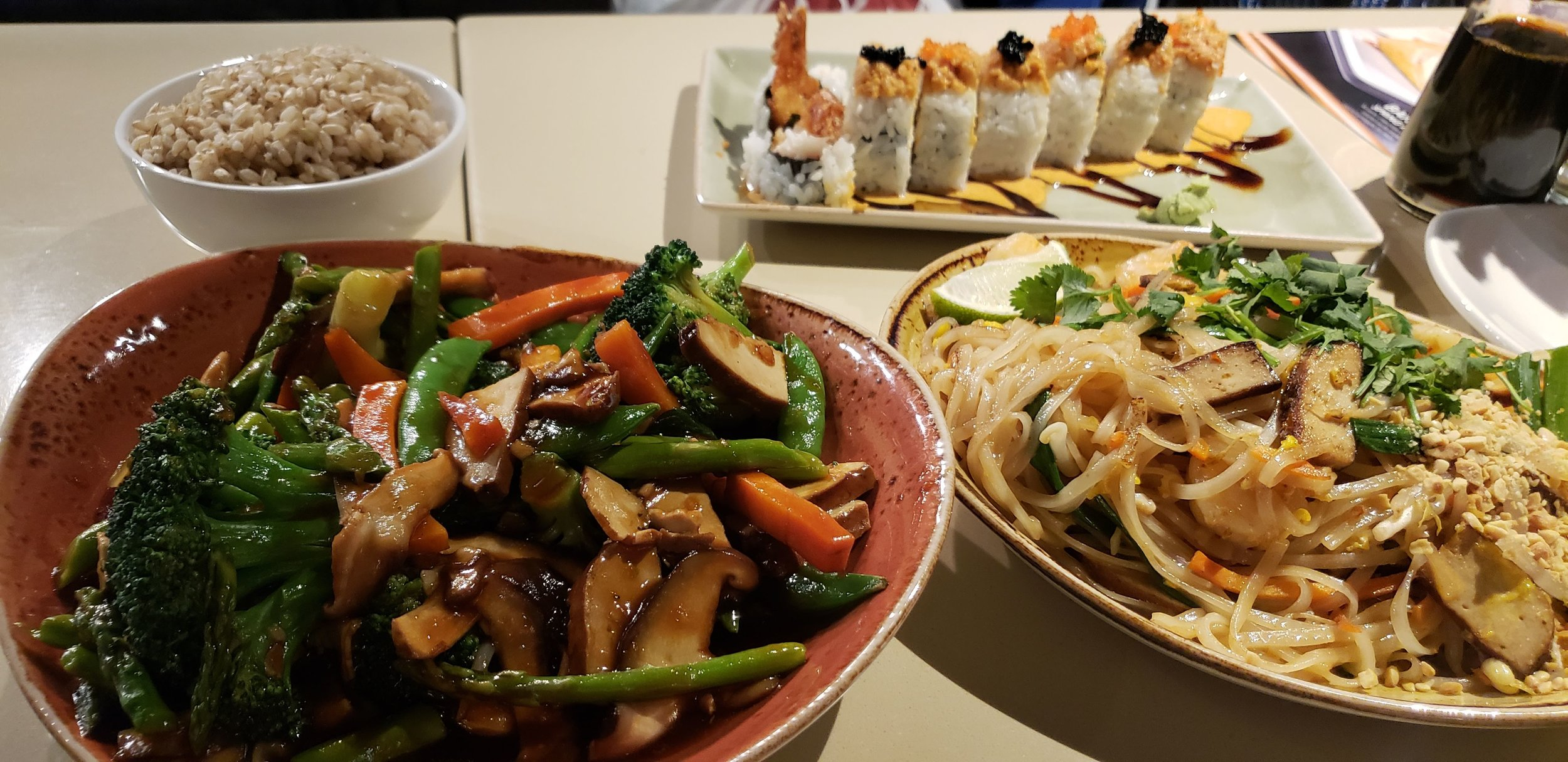 My first P.F. Chang experience made better by being free!