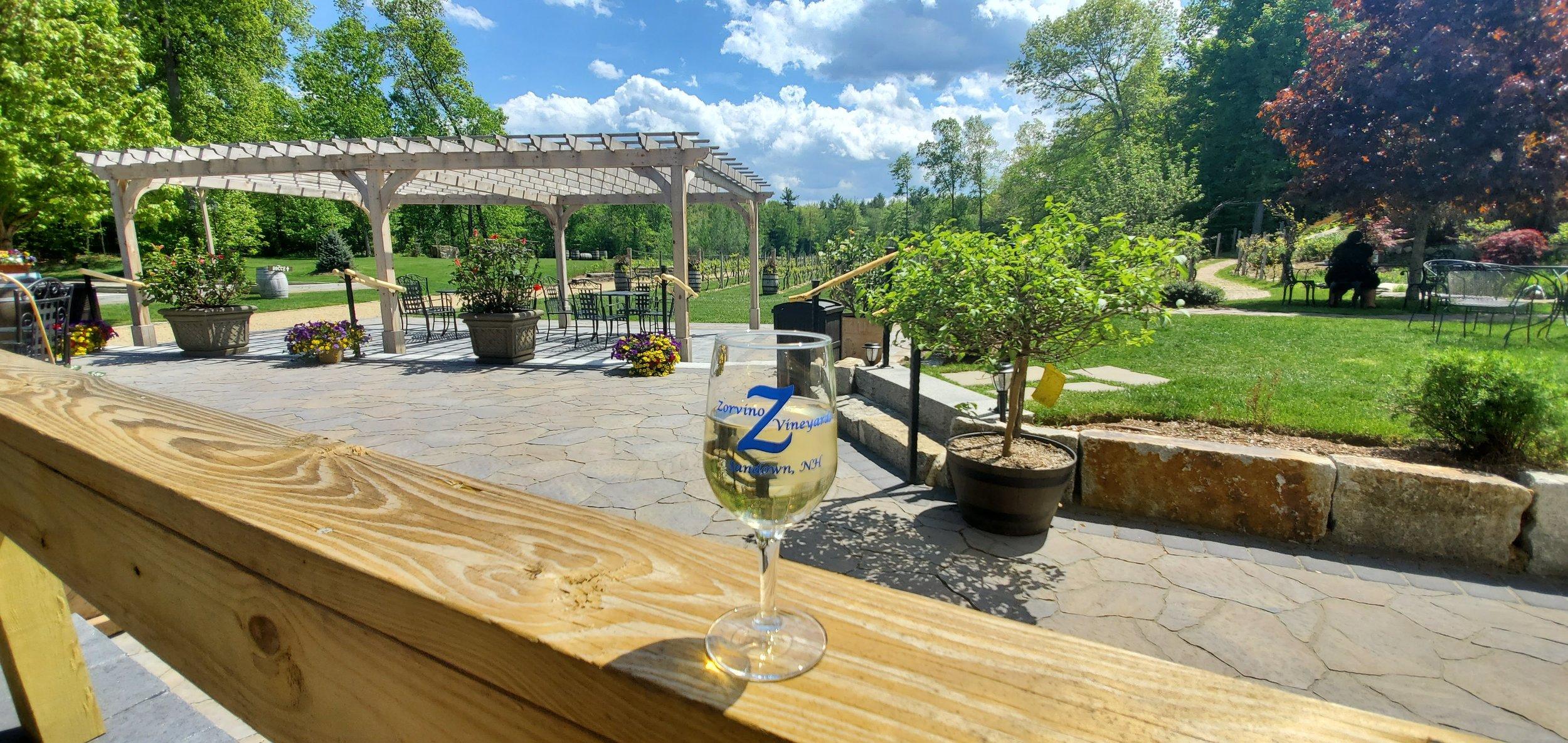New Hampshire Vineyard