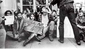 Protesting the U.S. war in Vietnam