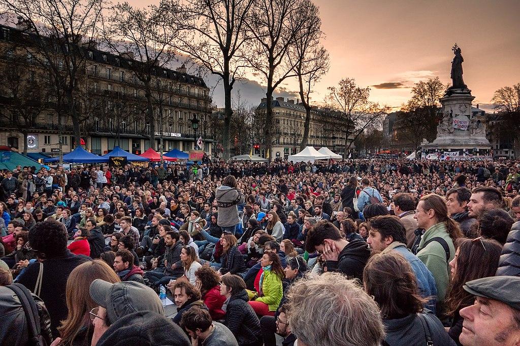 Nuit Debout , Paris, 2016