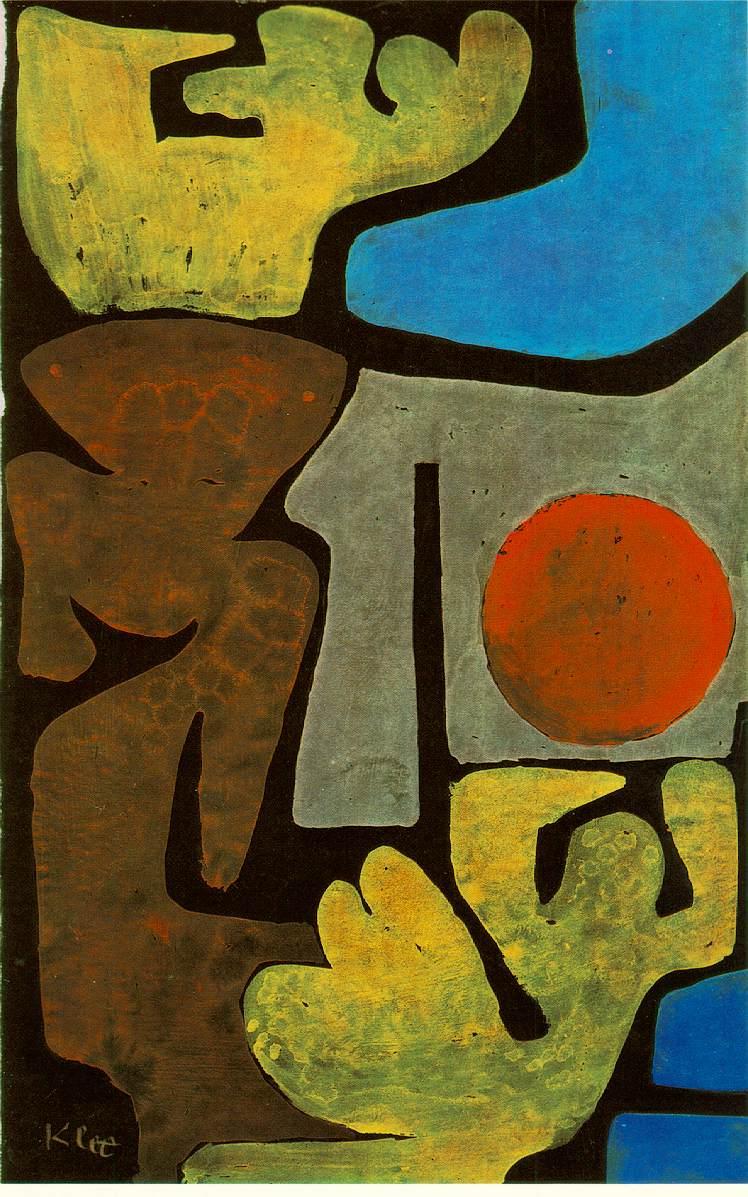 Park of Idols—Paul Klee, 1939